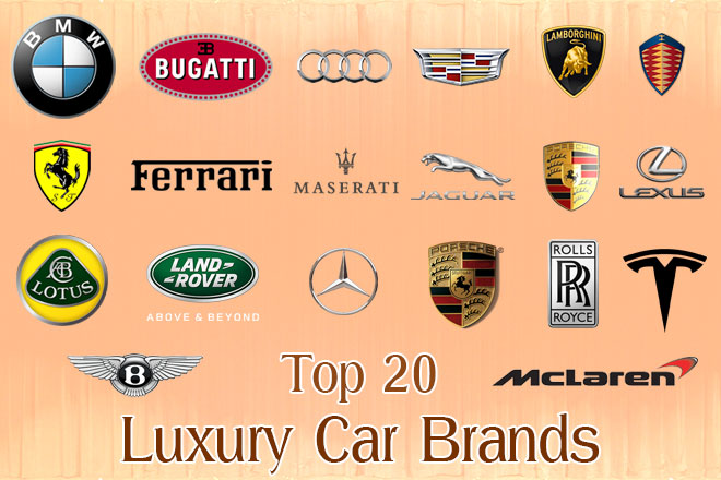 Top 20 Luxury Car Brands