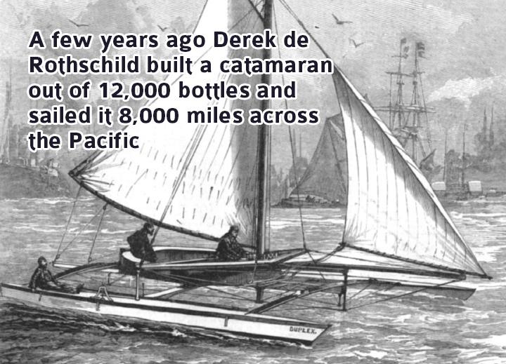 Derek de Rothschild Built a Catamaran