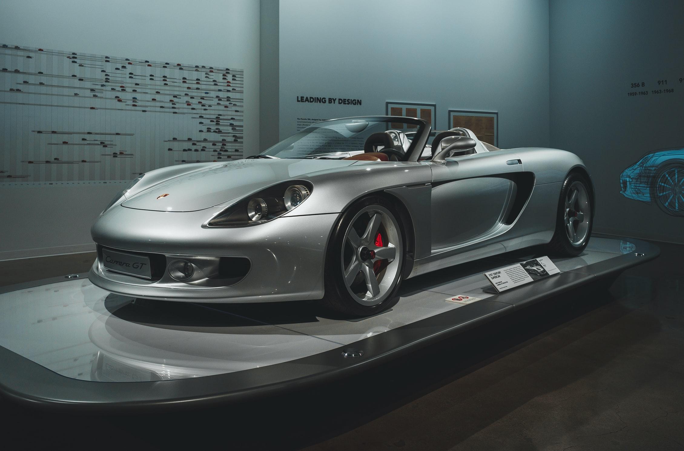 exotic sports car