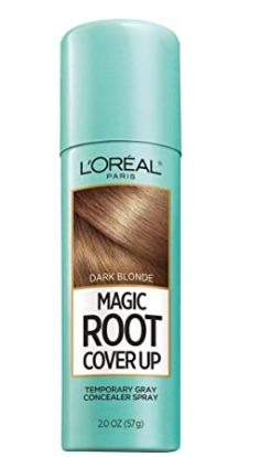 L Oreal Paris Magic Root Cover Up Gray Concealer Spray Dark Blonde 2 oz.(Packaging May Vary)