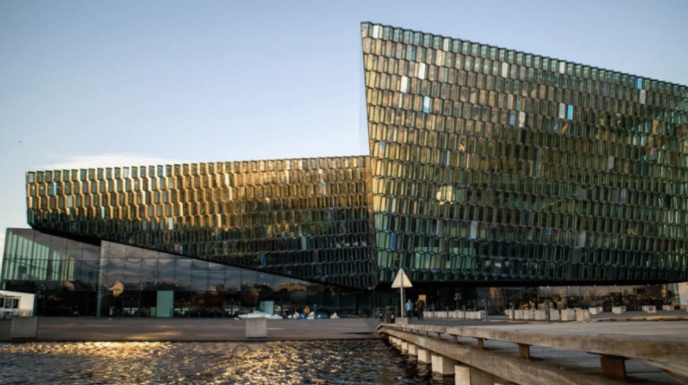 a building located in reykjavík, Iceland